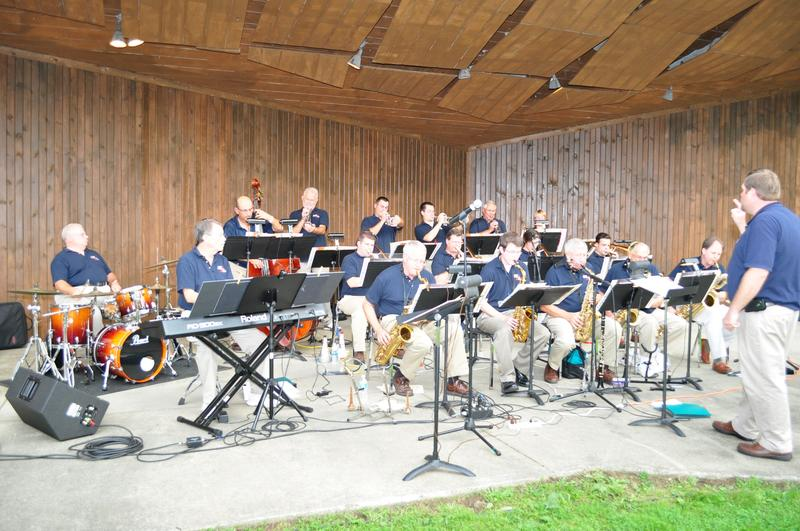 ASO Big Band in Silver Park 2012