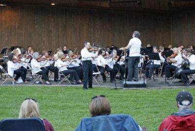 ASO at carnation days in the park